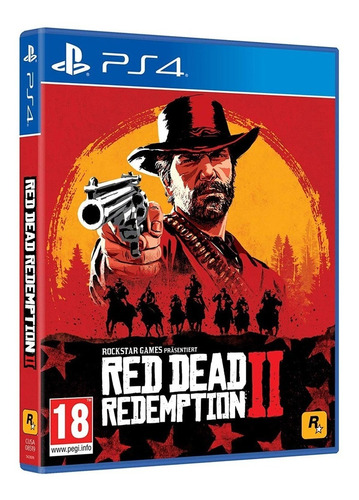 juego fisico sellado red dead redemption 2 sony ps4 gtia