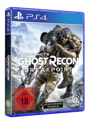 juego fisico tom clancy's ghost recon breakpoint sony ps4