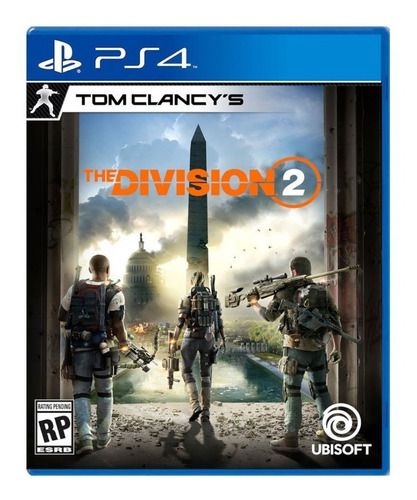 juego fisico tom clancy's the division 2 playstation 4 ps4