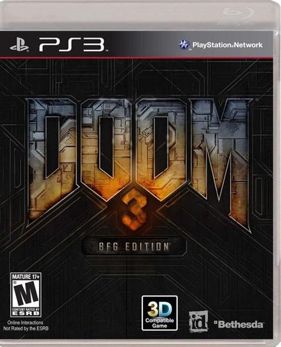 juego formato digital doom 3 bfg edition + regalo crash ctr