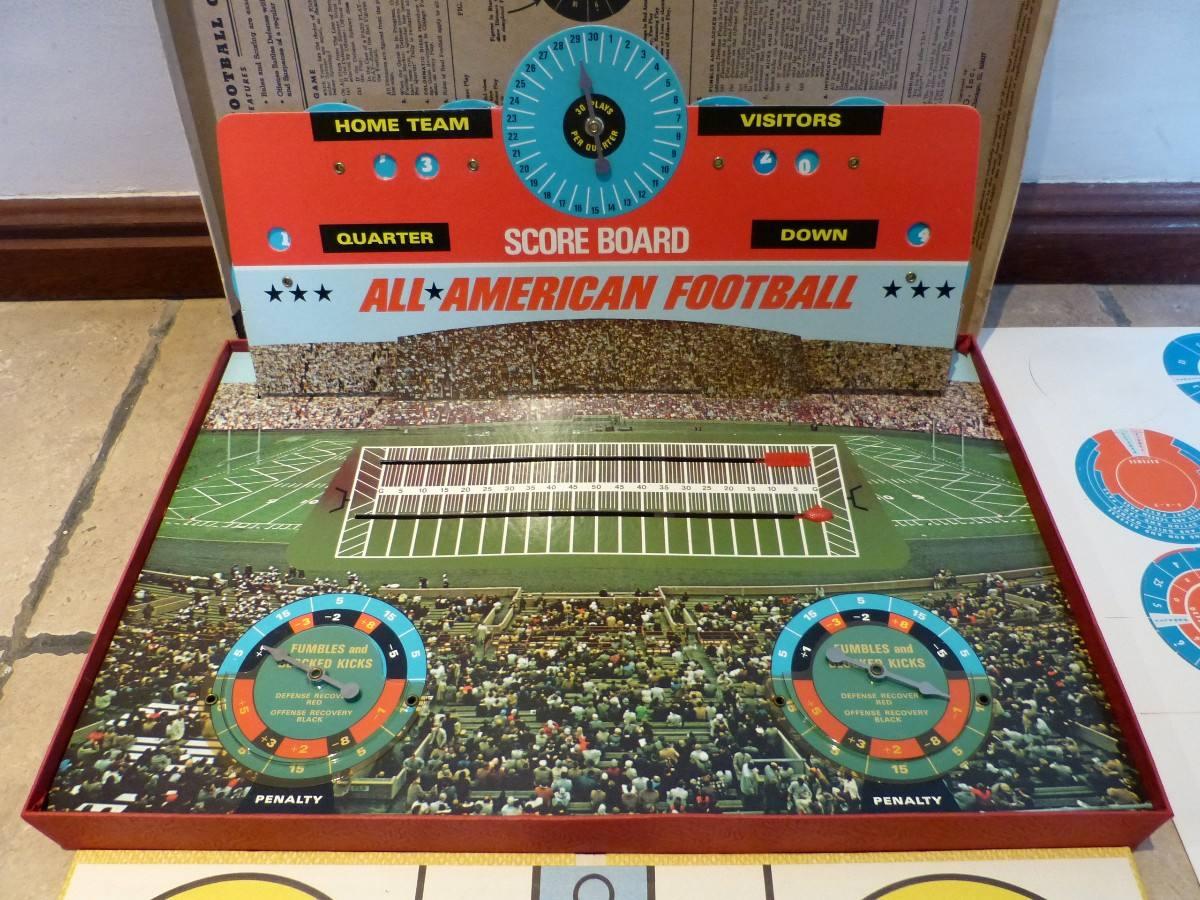 Juego Futbol Americano All American Football Juego De Mesa 389