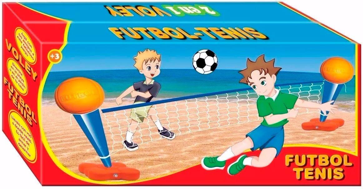 bbbcbe6771a8c Juego Futbol Tenis Y Voley Tenisol 2 En 1 Juegosol En Smile ...