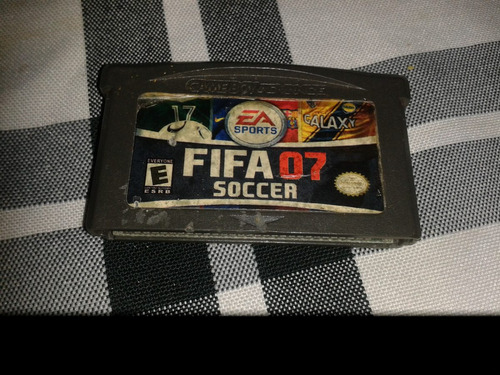 juego game boy advance fifa 07