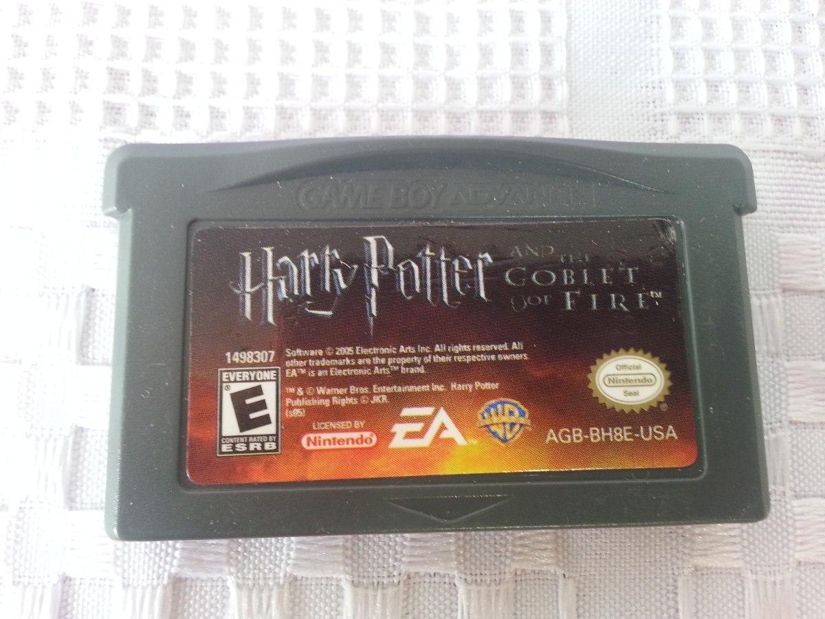 Juego Game Boy Advance Gba Harry Potter Y El Caliz De Fuego