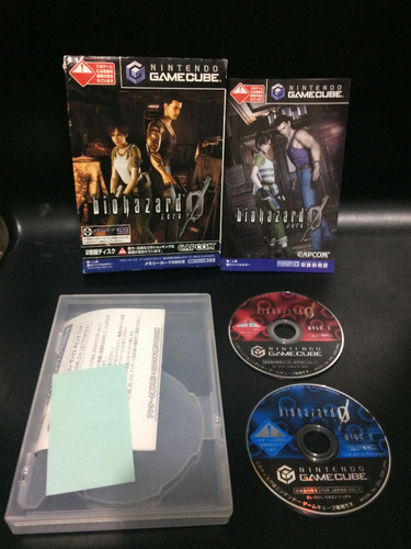 juego game cube resident evil 0 (biohazard)