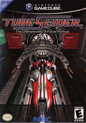juego game cube  tube slider original