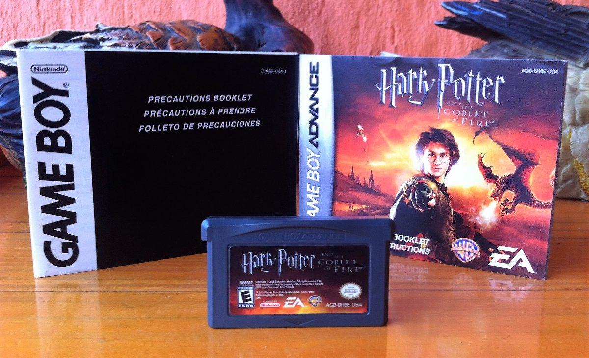 Juego Gameboy Advance Harry Potter Y El Caliz De Fuego 10 000 En