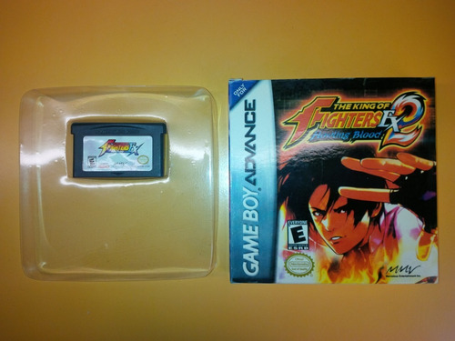 juego gba the king of fighters ex - neo blood