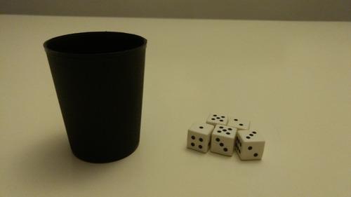 juego generala cubilete con 5 dados