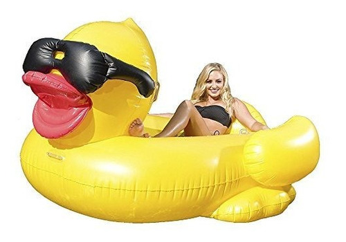 juego giant derby duck inflatable pool float por