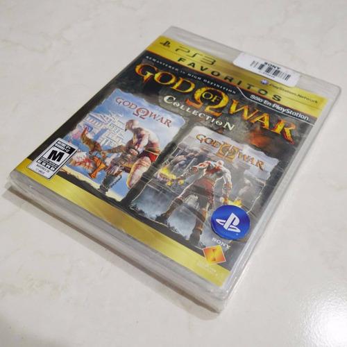 juego god of war collection para ps3 nuevo sellado físico