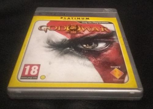 juego god of war platinum ps3.