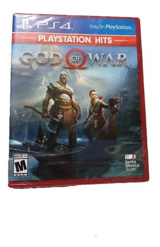 juego god of war ps4 nuevo-sellado