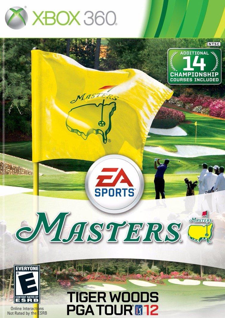 Juego Golf Masters Tiger Woods Pga Tour 12 Xbox 360 Tienda Bs