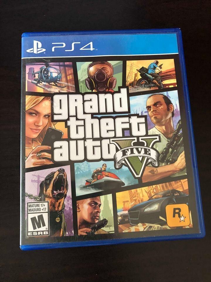 Juego Grand Theft Auto Para Ps4 Gta V 449 00 En Mercado Libre