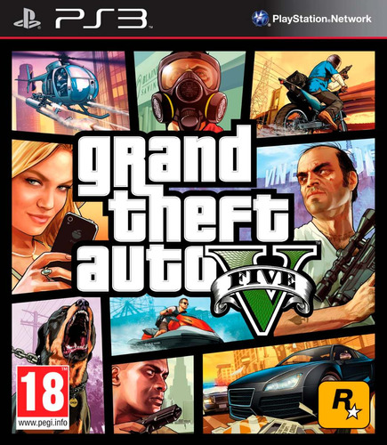 juego gta 5 grand theft auto v digital original ps3