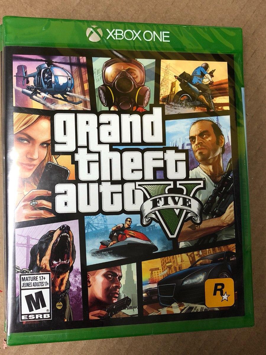 Juego Gta 5 Para Xbox One Nuevo 749 00 En Mercado Libre