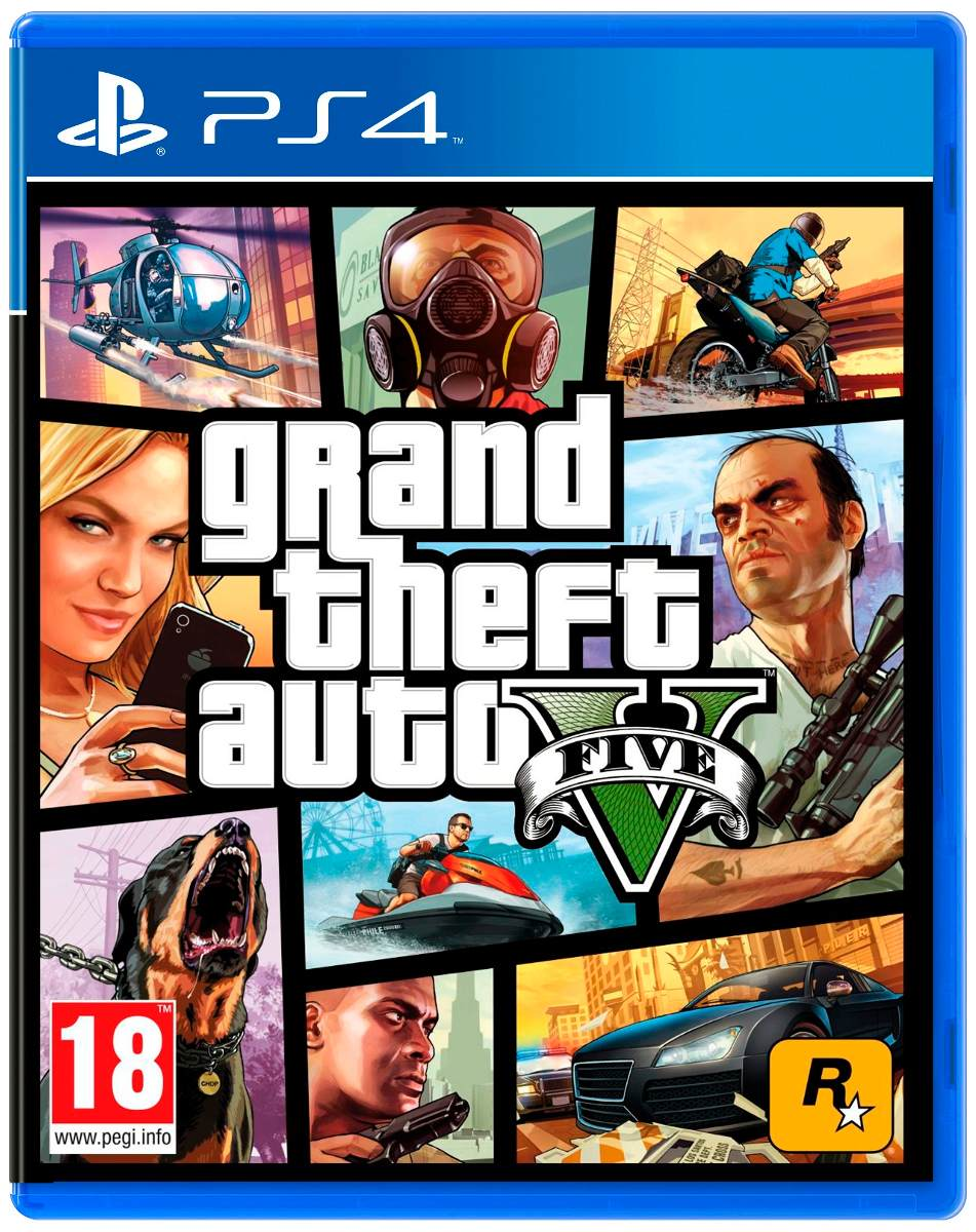 Juego Gta 5 Ps4 Gtav Fisico Grand Theft Auto V Alclick 1 590 00