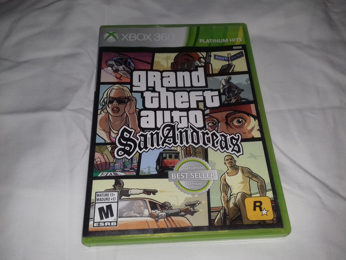 Juego Gta San Andreas Xbox 360 450 00 En Mercado Libre