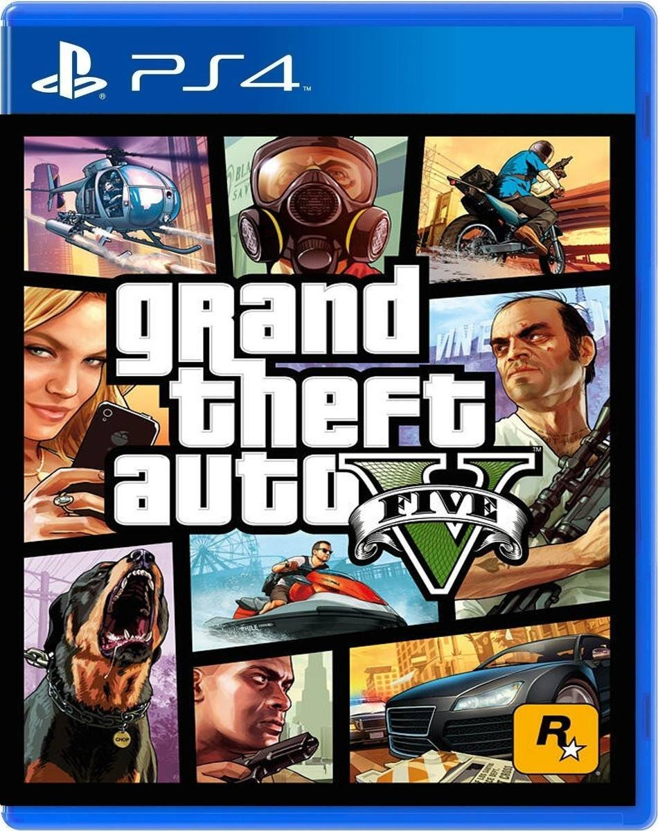 Juego Gta V Grand Theft Auto V Ps4 Fisico Sellado Original