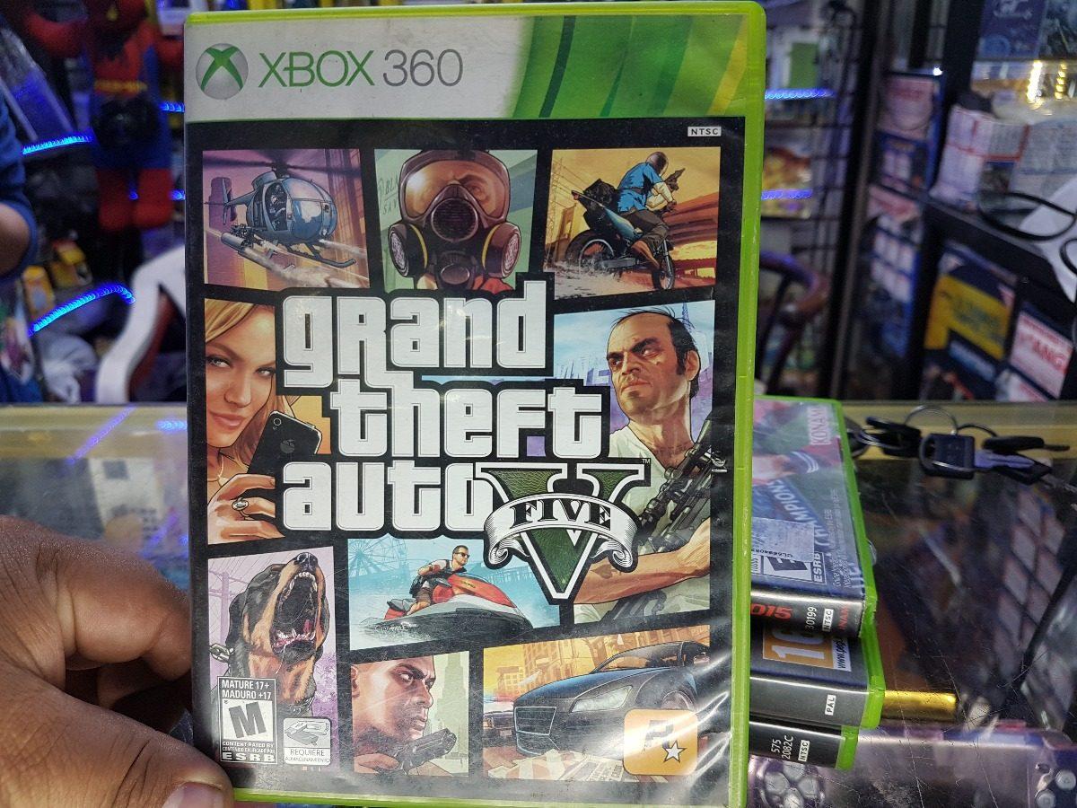 Juego Gta V Original Semi Nuevo Para Xbox 360 S 70 00 En Mercado