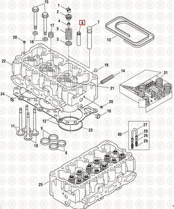 Mack Motor Diagram