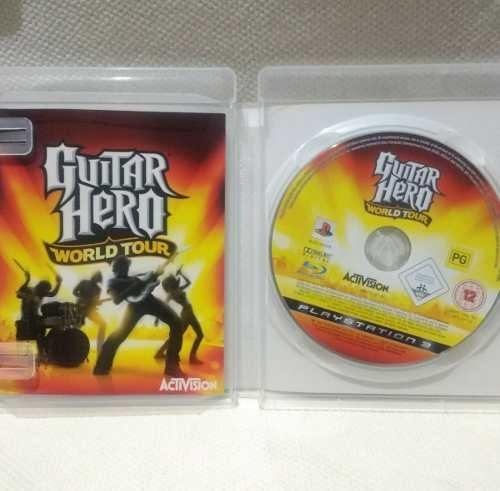 juego guitar hero world tour ps3