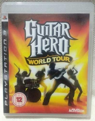 juego guitar hero world tour ps3 usado original