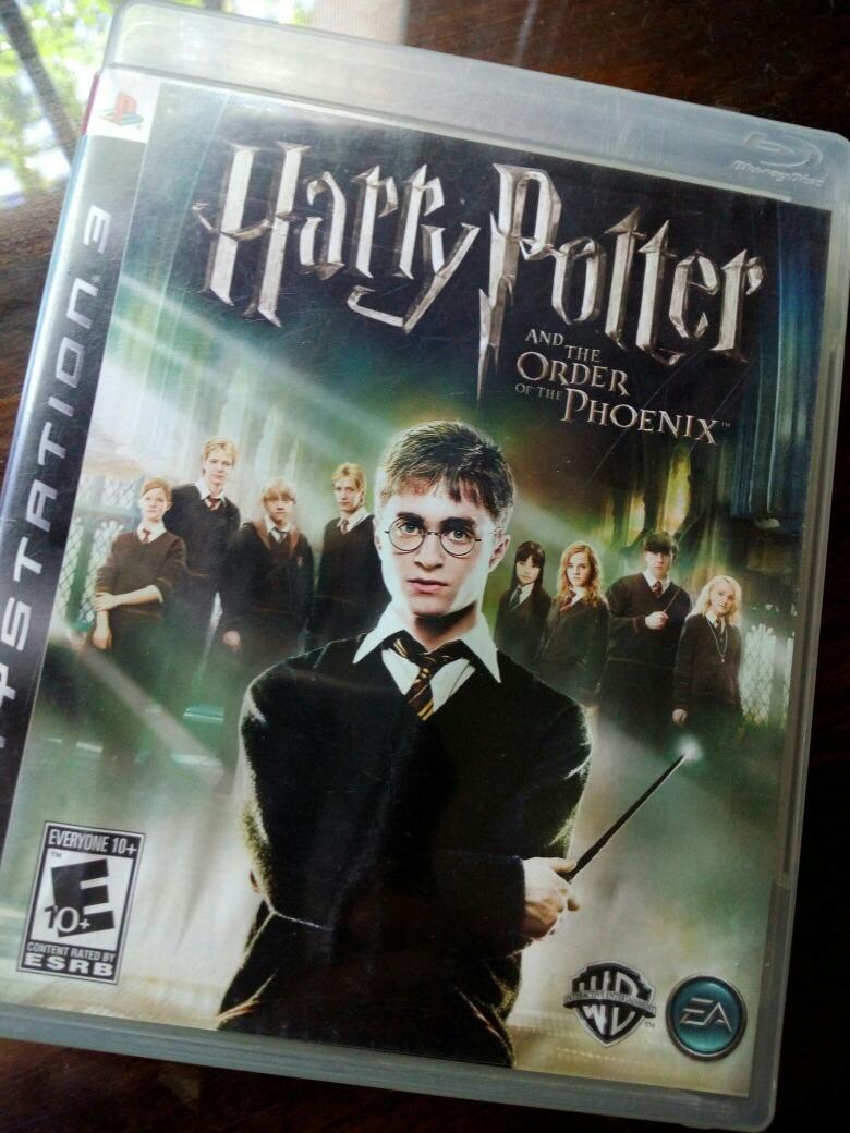 Juego Harry Potter Orden Del Fenix Ps3 Fisico Original 690 00 En