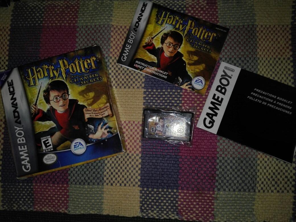 Juego Harry Potter Y La Camara Secrera Para Gameboy Advance Bs