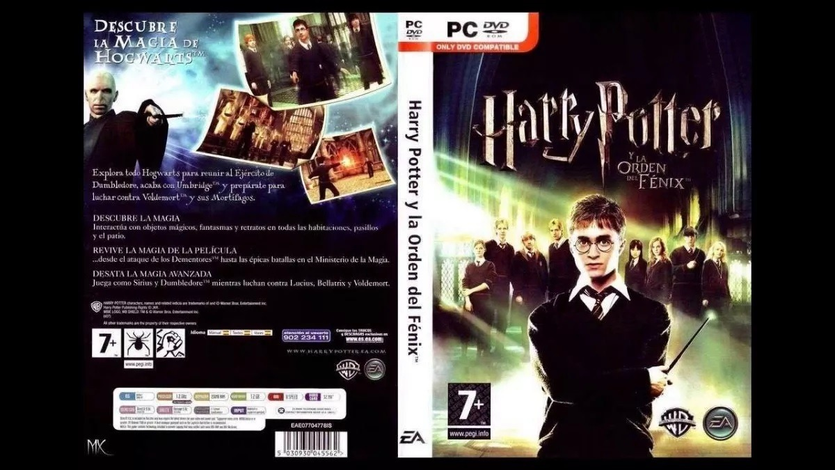 Juego Harry Potter Y La Orden Del Fenix Digital Para Pc Bs 500 00