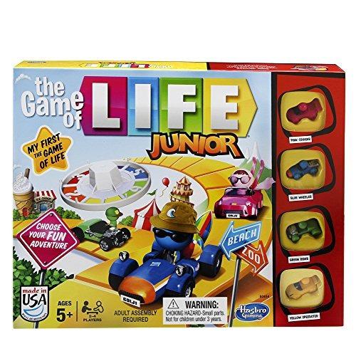 juego hasbro el juego de la vida multicolor