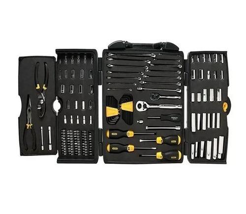 juego herramientas mecanico autocle kit 150 pzas stanley