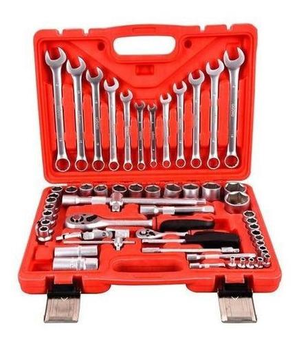 juego herramientas tubos caja set kit 60 pz udovo racing