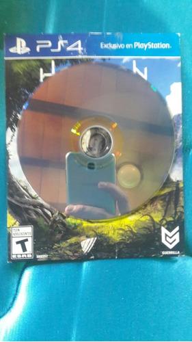 juego horizon zero dawn de ps4 (usado)