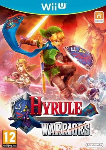 juego hyrule warriors para wiiu nuevo sellado