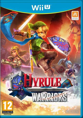 juego hyrule warriors wiiu nuevo sellado