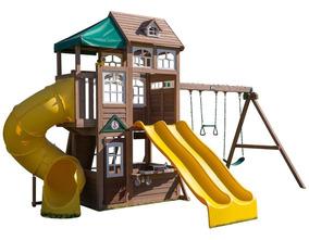 Juego Infantil Para Exterior Con Resbaladillas Env Inmediato