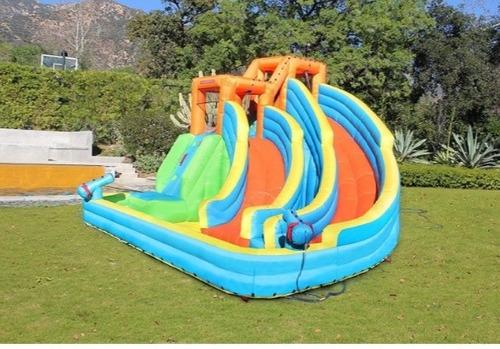 juego inflable acuatico para jardín