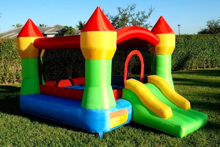 Juego inflable castillo brincol n jard n eventos fiestas - Juegos infantiles para jardin de fiestas ...