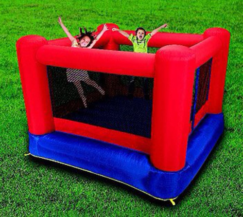juego inflable con turbina antes 250 mil