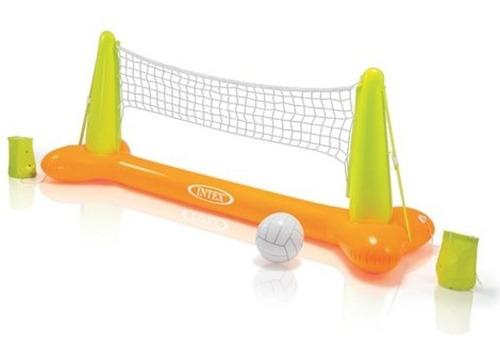 juego inflable de voleybol para alberca 56508np intex