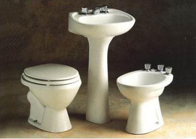 juego inodoro bidet lavatorio andina ferrum nuevo sanitarios