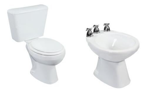 juego inodoro mochila bidet baño completo combo napo cuotas
