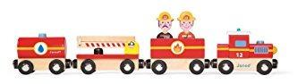 juego janod historia de tren de tren de bombero