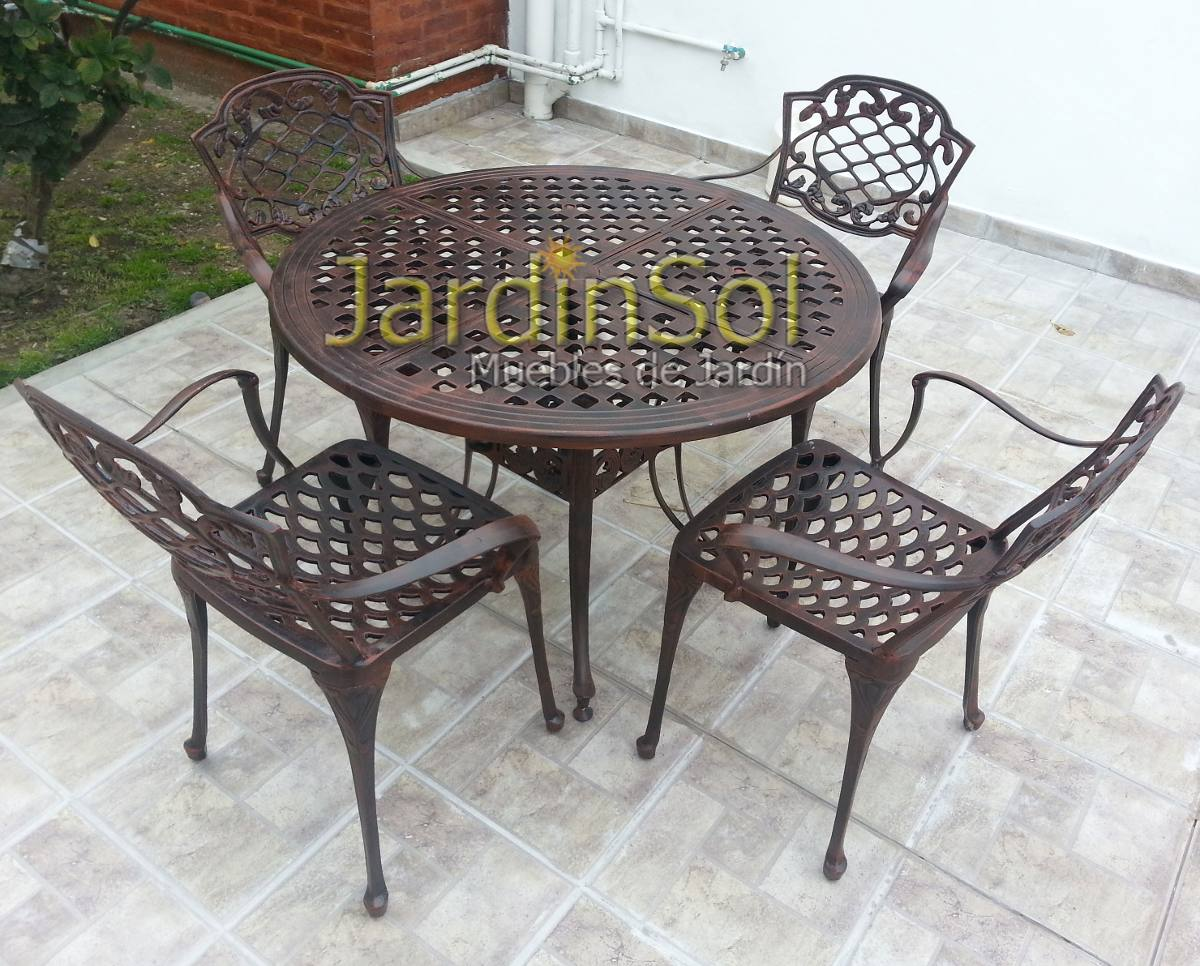 Best Juego De Jardin Fundicion Aluminio Pictures - Design Trends ...