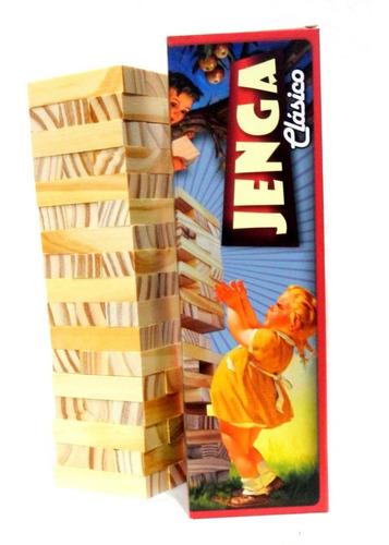juego jenga clasico retro de calidad planeta juguete