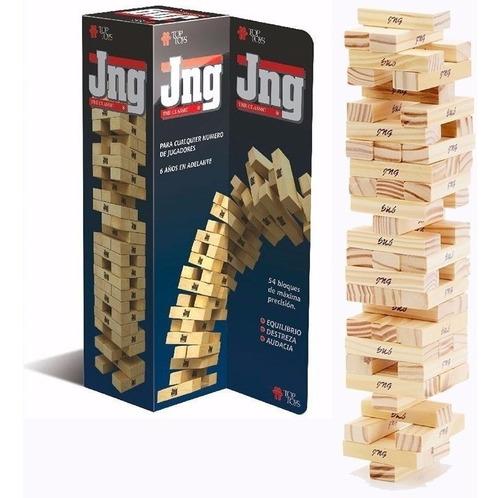 juego jenga top toys the classic jng el original