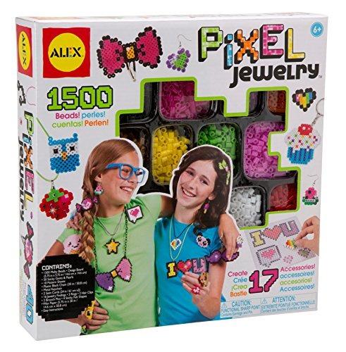 juego joyas alex juguete diy vestir pixel