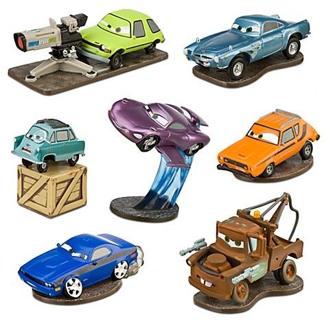 Juego juguete cars disney 7 piezas 7 carros padrisimo nuevo en mercado libre - Juguetes de cars disney ...